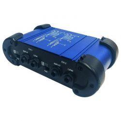 QDI-400 STEREO DI BOX Caja de inyección