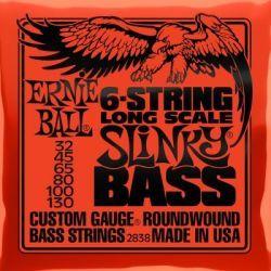 Ernie Ball JUEGO BAJO SLINKY 6 St. 32-130