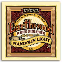 Ernie Ball SET MANDOLINA EARTHWOOD LIGHT 9-34