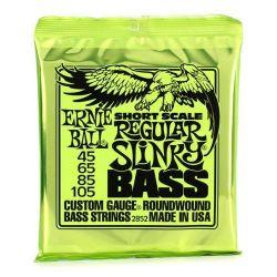 Ernie Ball SET BAJO SLINKY SHORT SCALE REGULAR 45-105