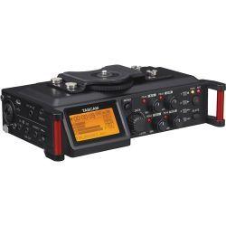 tascam dr-70d grabador de audio para camaras dslr