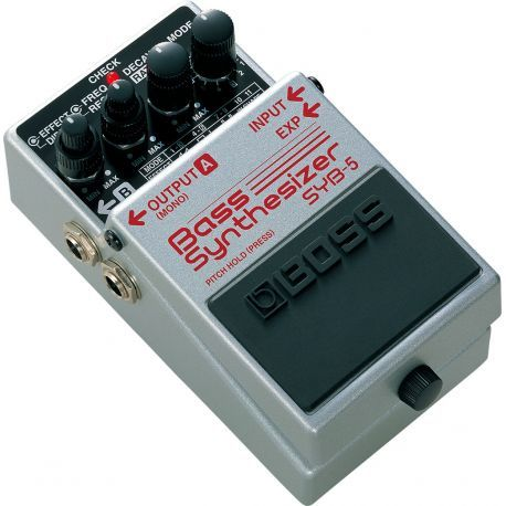 boss syb-5 pedal bass synthesizer - SYB5
