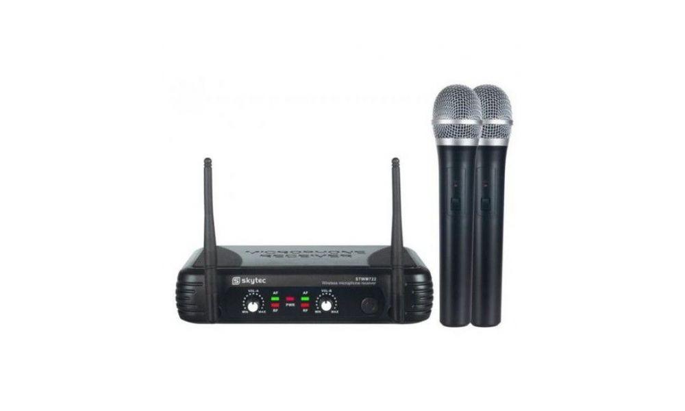 Compra VONYX STWM712 MIcrofono VHF 2 canales diversity al mejor precio