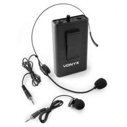 Vonyx BP10 Petaca con micro de cabeza 863.1 MHz