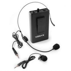 Vonyx BP12 Petaca con micro de cabeza 864.5 MHz