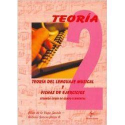 teoria del lenguaje musical y fichas de ejercicios 2. grado elemental