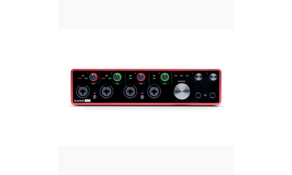 Compra Focusrite SCARLETT 18i8 3rd gen al mejor precio