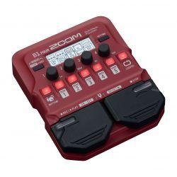 Zoom B1 FOUR pedal multiefecto para bajo electrico