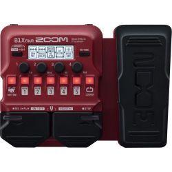 Zoom B1X FOUR pedal multiefecto para bajo