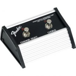 Fender 2-Button Footswitch: Channel / Chorus On/Off with 1/4 Jack