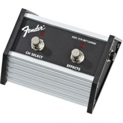 Fender 2-Button Footswitch: Channel Select / Effects On/Off with 1/4 Jack