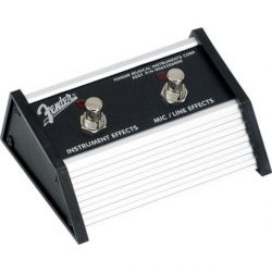 Fender 2-Button Footswitch: Acoustasonic Jr. DSP 1/4 Connector