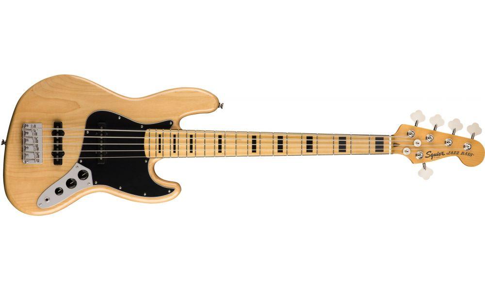 Compra Squier CLASSIC VIBE '70s Jazz Bass V Maple Fingerboard Natural al mejor precio