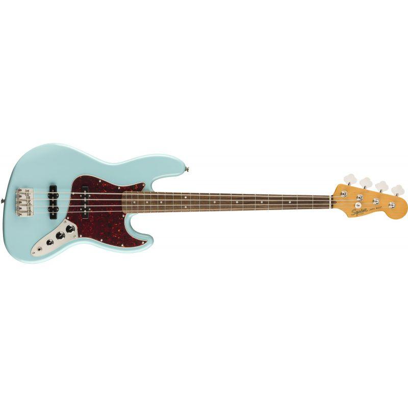 Compra Squier CLASSIC VIBE '60s Jazz Bass Laurel Fingerboard Daphne Blue al mejor precio