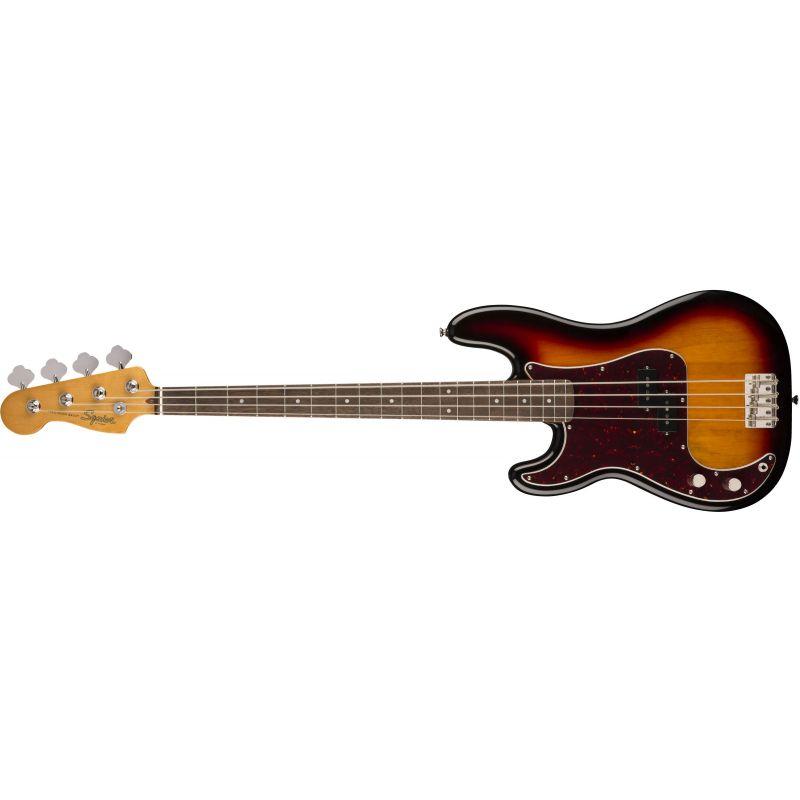 Compra Squier CLASSIC VIBE '60s Precision Bass Left-Handed Laurel Fingerboard 3-Color Sunburst al mejor precio