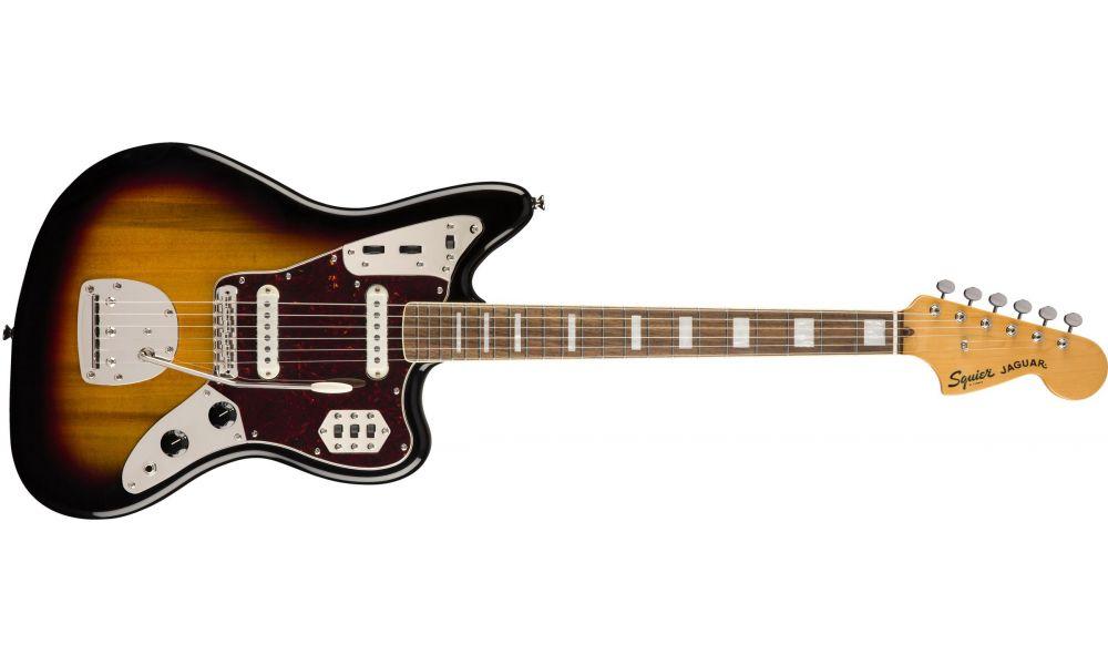 Compra Squier CLASSIC VIBE '70s Jaguar Laurel Fingerboard 3-Color Sunburst al mejor precio