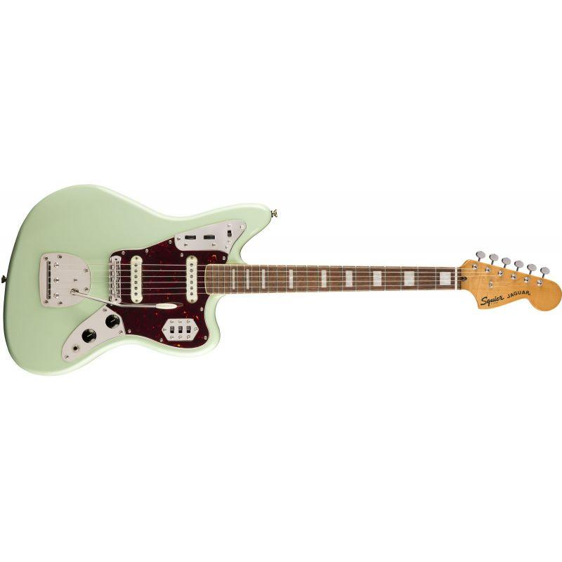 Compra Squier CLASSIC VIBE '70s Jaguar Laurel Fingerboard Surf Green al mejor precio
