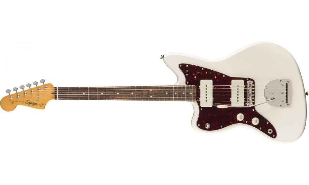 Compra Squier CLASSIC VIBE '60s Jazzmaster Left-Handed Laurel Fingerboard Olympic White al mejor precio