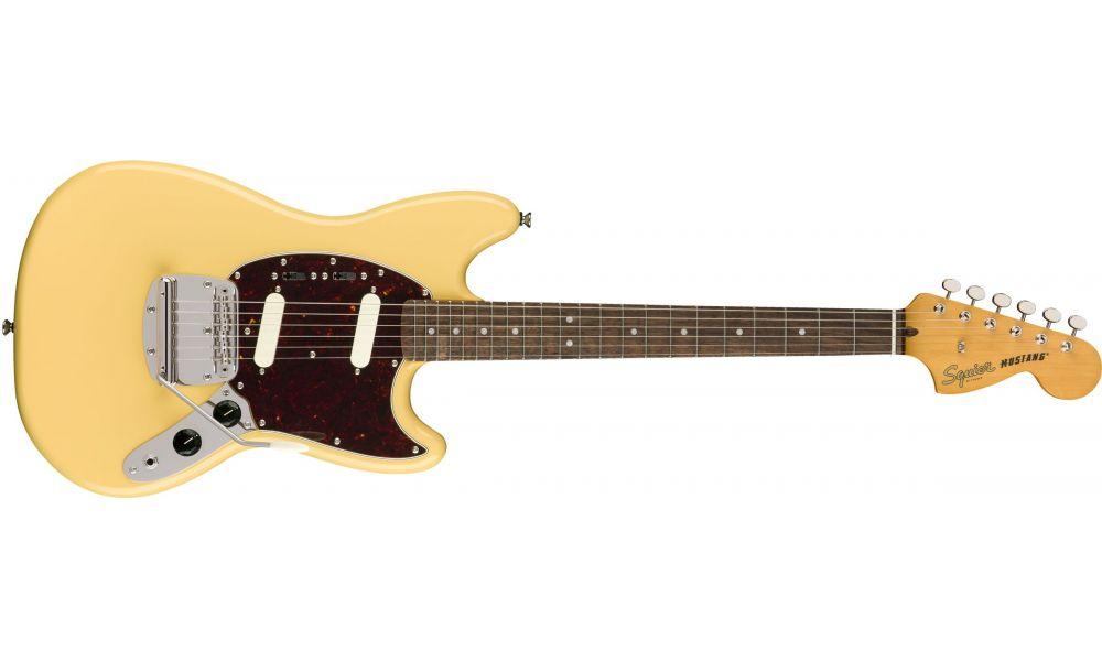 Compra Squier CLASSIC VIBE '60s Mustang Laurel Fingerboard VINTAGE White al mejor precio