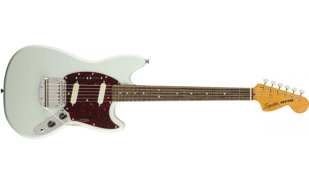 Compra Squier CLASSIC VIBE '60s Mustang Laurel Fingerboard Sonic Blue al mejor precio