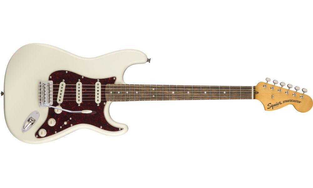 Compra Squier CLASSIC VIBE '70s Stratocaster Laurel Olympic White al mejor precio
