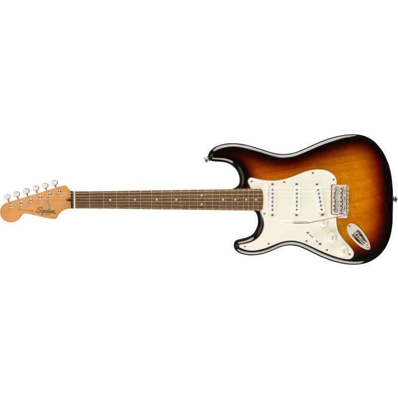 Compra Squier CLASSIC VIBE '60s Stratocaster Left-Handed Laurel Fingerboard 3-Color Sunburst al mejor precio