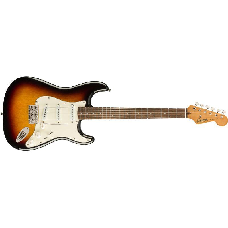 Compra Squier CLASSIC VIBE '60s Stratocaster Laurel Fingerboard 3-Color Sunburst al mejor precio