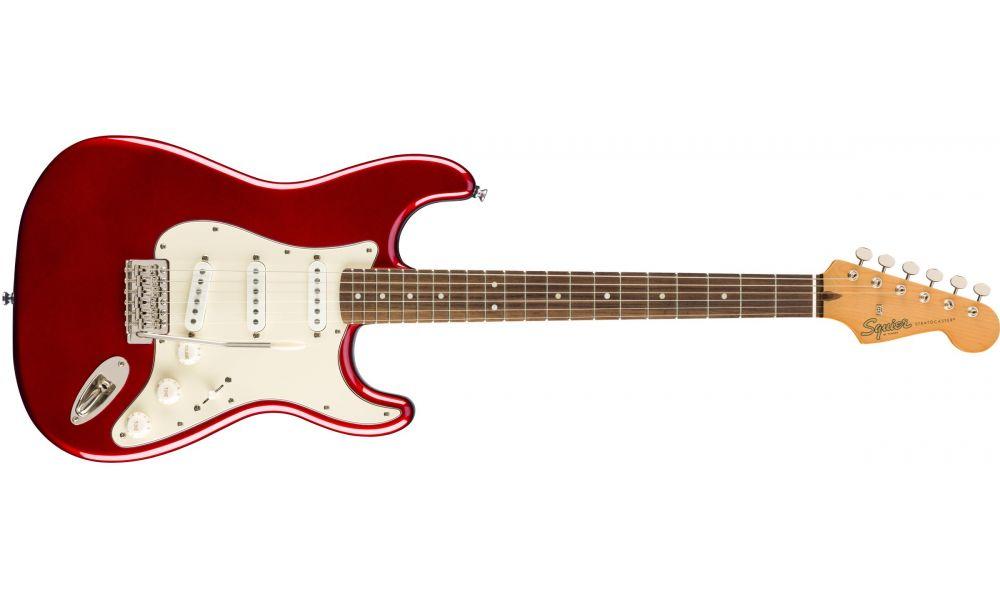 Compra Squier CLASSIC VIBE '60s Stratocaster Laurel Fingerboard Candy Apple Red al mejor precio