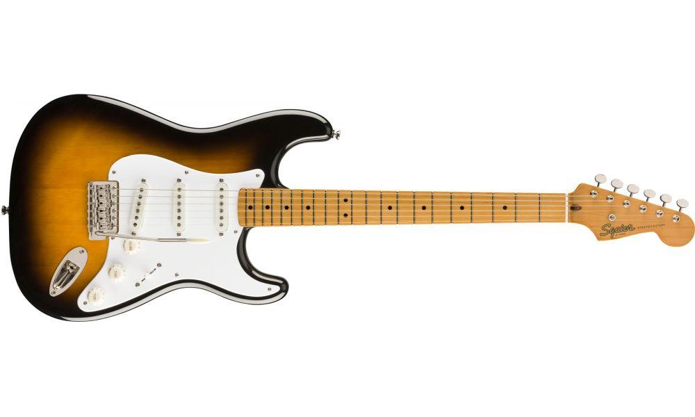 Compra Squier CLASSIC VIBE '50s Stratocaster Maple Fingerboard 2-Color Sunburst al mejor precio