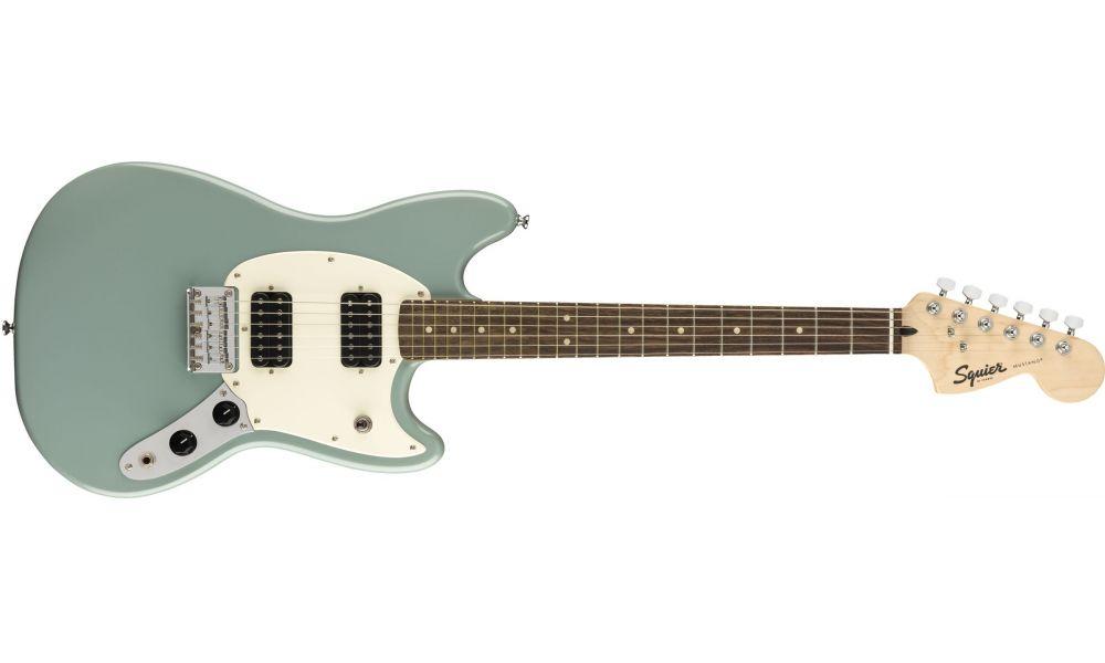 Compra Squier BULLET Mustang HH Laurel Fingerboard Sonic Grey al mejor precio