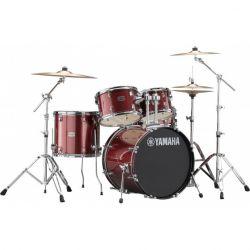Yamaha Rydeen Standard Burgundy Glitter + Set Platos Paiste