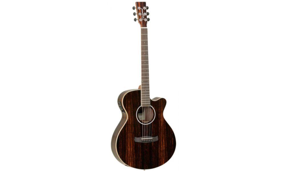 Compra TANGLEWOOD DBTSFCEAEB guitarra acustica super folk al mejor precio