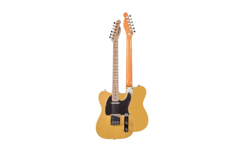 Compra PRODIPE Guitarra Eléctrica PRODIPE SERIE TC80-MA TELECASTER BUTTERSCOTCH al mejor precio
