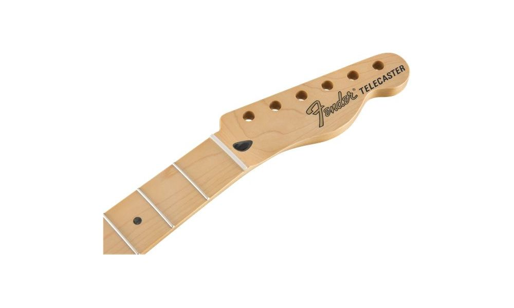 Compra Fender DELUXE Series Telecaster Neck 22 Narrow Tall Frets 12 Radius Maple Fingerboard al mejor precio