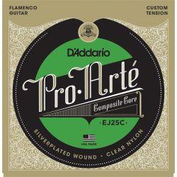 Compra daddario ej25c composites flamenco clear nylon al mejor precio