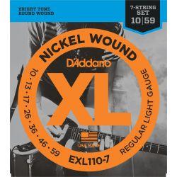 DADDARIO EXL1107 - XL REGULAR 7-STRING [10-59]