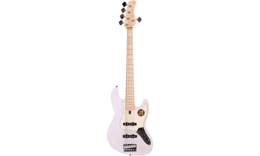 Compra Sire MARCUS MILLER V7 SWAMP ASH-5 (2ND GEN) WB white blonde al mejor precio