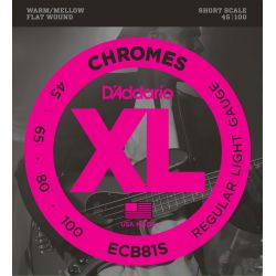 DADDARIO ECB81S CHROMES LIGHT SHORT SCALE [45-100]