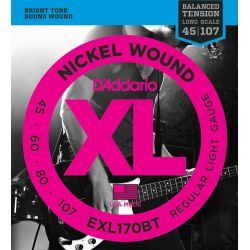 daddario exl170bt balanced tension regular light [45-107]
