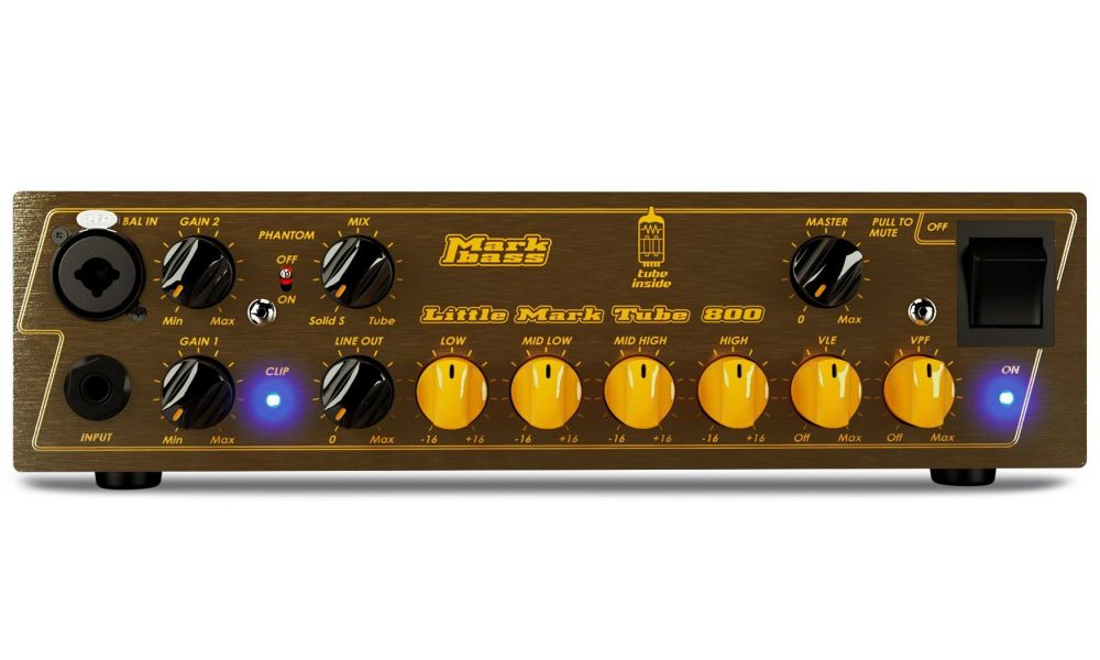 Compra markbass little mark tube 800 - 800w @ 4 ohm/ 500w @ 8 ohm al mejor precio