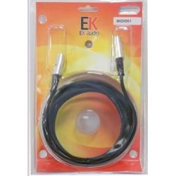 EK AUDIO Cable Midi MIDI001 1,5mts