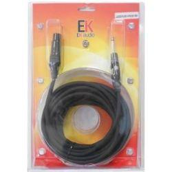 EK Audio JJ025XJ9 Cable JACK-XLR HEMBRA 9Mts