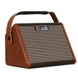 EK Audio AG15A amplificador de guitarra acustica 15W bateria recargable