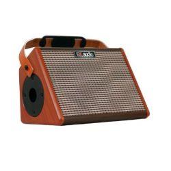 EK Audio AG26A amplificador de guitarra acustica 25W bateria recargable