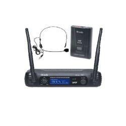 EK AUDIO Micrófono Inalámbrico de cabeza EK audio Sistema WR-69L VHF