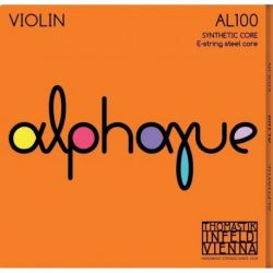 Thomastik Infeld Juego Medium Cuerdas para violín ALPHAYUE núcleo de nylon