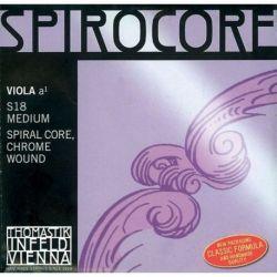 Thomastik Infeld Blanda cuerdas para Viola Spirocore Alma en espiral