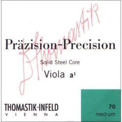 Thomastik Infeld Fuerte cuerdas para Viola Precisión Alma sólida en acero