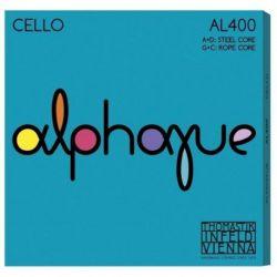 Thomastik Infeld Juego 4/4 Cuerdas para violonchelo Alma en nylon