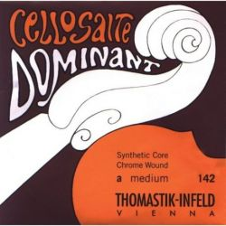 Thomastik Infeld Fuerte Cuerdas para violonchelo Dominant Alma en nylon